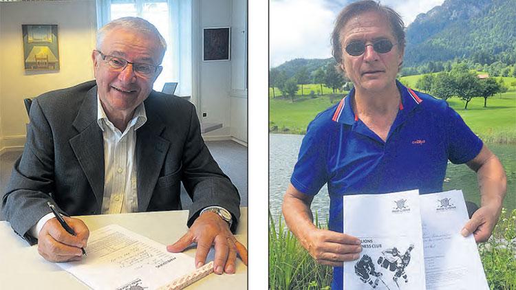 Red Lions Reinach, Gemeindeammann Martin Heiz, Arno Del Curto