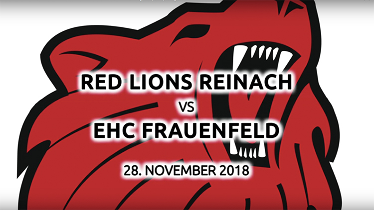 Red Lions Reinach, Video, 28.11.2018