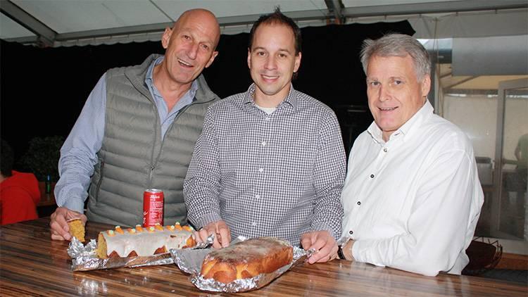 Red Lions Reinach, Heinz Schlatter, Rarhael Zahner, Car von Heeren
