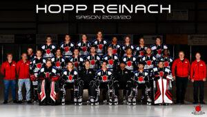 Red Lions Reinach, Mannschaft 2019/2020