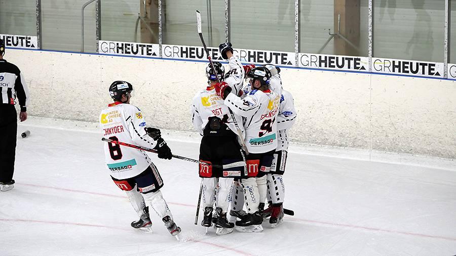 Red Lions Reinach: Auswärtssieg gegen Prättigau-Herrschaft