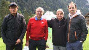 Red Lions Reinach: Martin Heiz, Arno Del Curto, Alber Fässler, Raphael Zahner