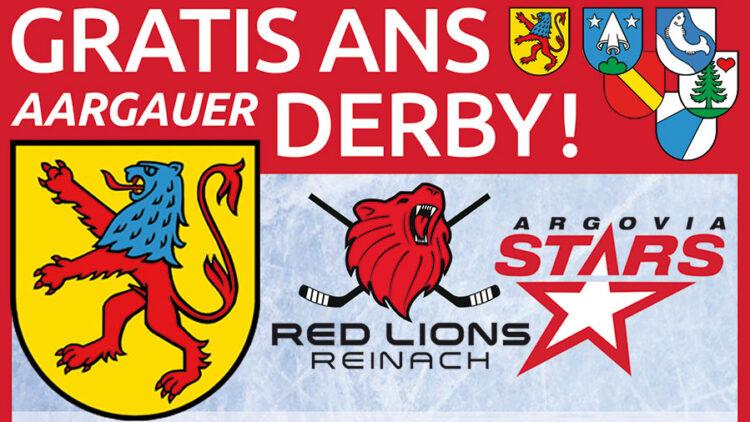 Red Lions Reinach, Argovia Stars, Aargauer Derby 2020