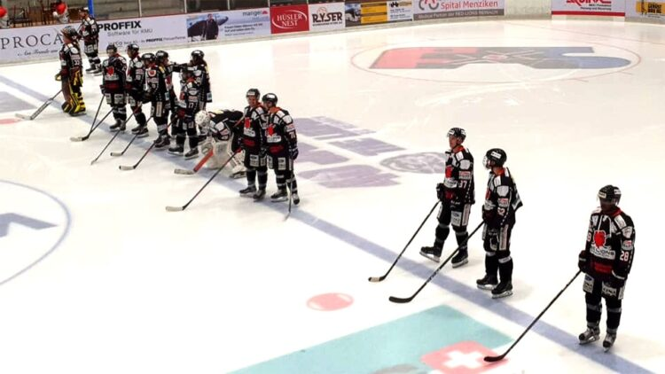 Red Lions Reinach: Schweizer Eishockey Cup gegen EHC Thun